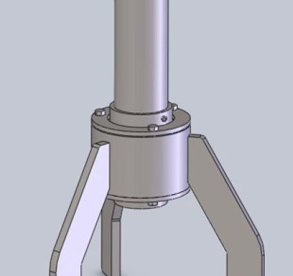 Industrial MIxer Steady Bearing PIcture