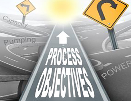 Illustration of Road with Process Objectives Text