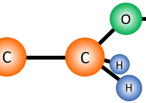 Graphic of Ethanol Molecule