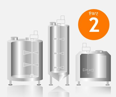 Image of 3 Industrial Mixing Tank Designs