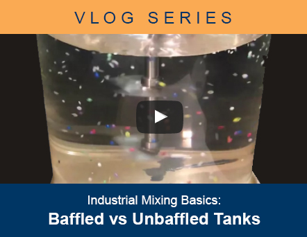 Feature image for Industrial Mixing Basics Vlog - Baffled vs Unbaffled Tank Configurations
