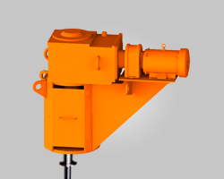 3D Rendering of ProQuip Top-Entry Tank Agitator