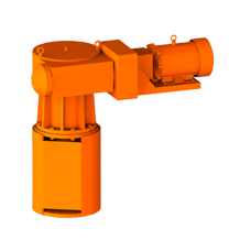 3D Rendering of ProQuip Y Series Top-Entry Tank Agitator