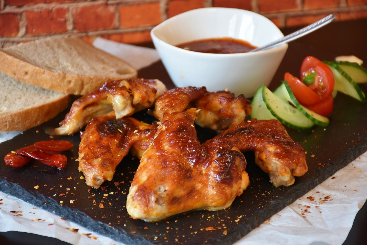 Photo of Chicken Wings with Hot Sauce -RitaE